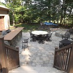 Outdoor Kitchen & Rooms